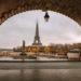 巴黎比爾哈克姆橋 與小自由女神像