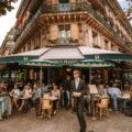 巴黎雙叟咖啡館 Les Deux Magots by 張威廉 Wilhelm Chang