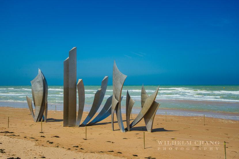 奧馬哈海灘 Omaha Beach by 旅行攝影師張威廉 Wilhelm Chang