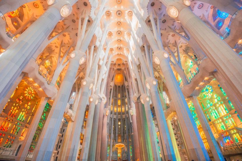 寓宗教於西班牙巴賽隆納景點 聖家堂 La Sagrada Familia 歷史介紹與門票購買與登塔建議自然 巴賽隆納 聖家堂 Sagrada Familia by 旅行攝影師張威廉