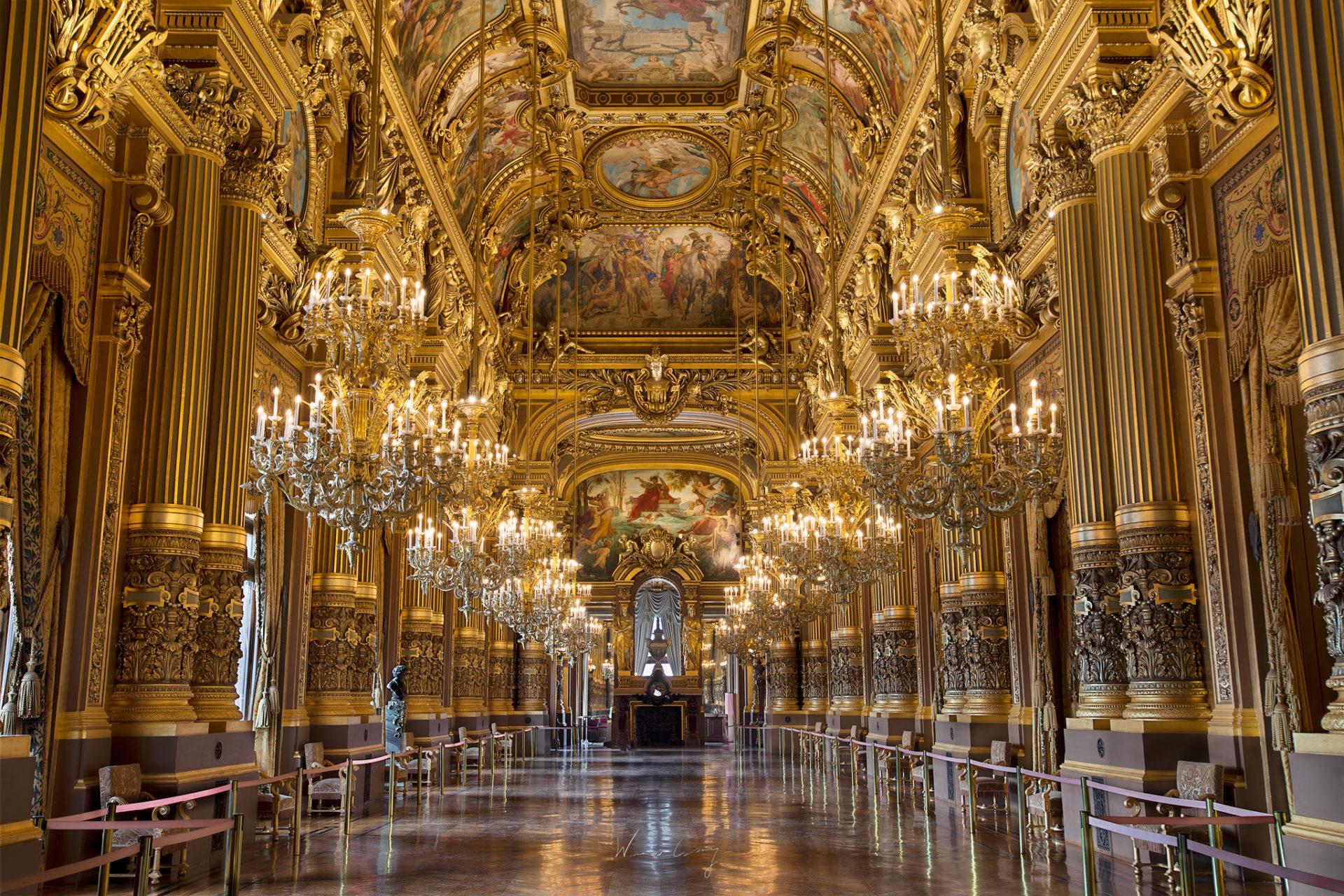 巴黎歌劇院介紹與參觀拍照建議 by 旅行攝影師張威廉