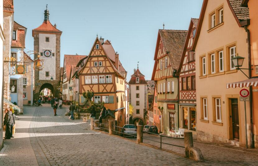 羅騰堡 可愛的中世紀童話小鎮 Rothenburg ob der Tauber by 旅行攝影師張威廉 Wilhelm Chang